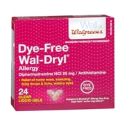 Photo of Walgreens Dye-Free Wal-Dryl Allergy Relief (Liquigels)