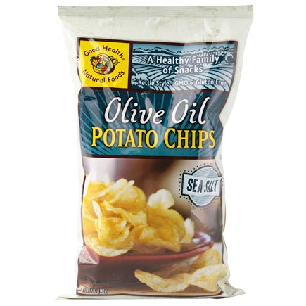 Photo of Good Health Natural Foods Olive Oil Kettle Style Potato Chips