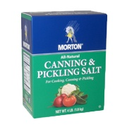 Photo of Morton Canning and Pickling Salt