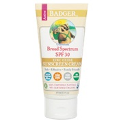 Photo of Badger Broad Spectrum Unscented Sunscreen Cream (SPF 30)