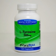 Photo of PureBulk L-Tyrosine (Gelatin Capsules)